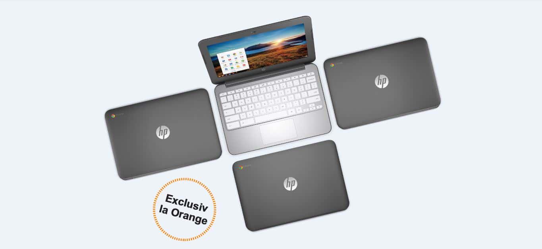 În sfârșit, laptopul HP Chromebook vine în România