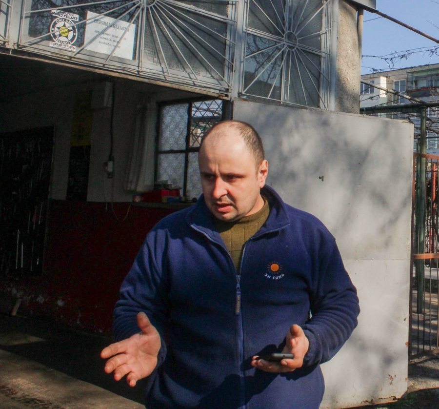 Ionut Cazacu - proprietarul serviceului auto