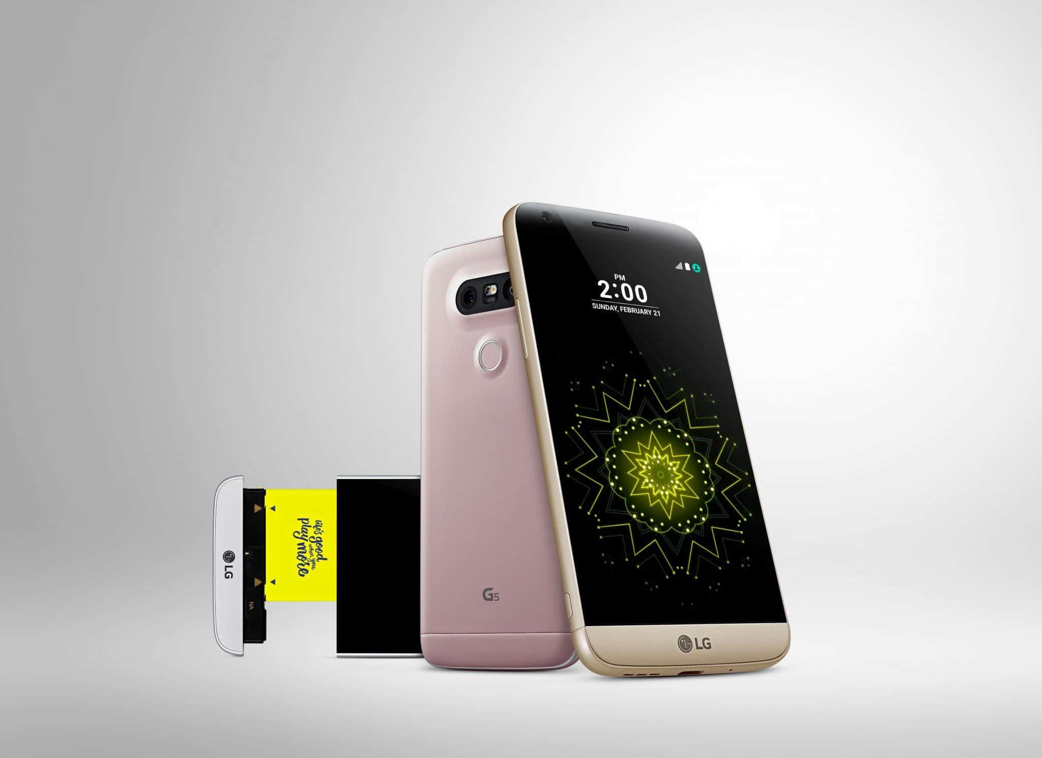 LG G5 joacă tare, este primul smartphone modular