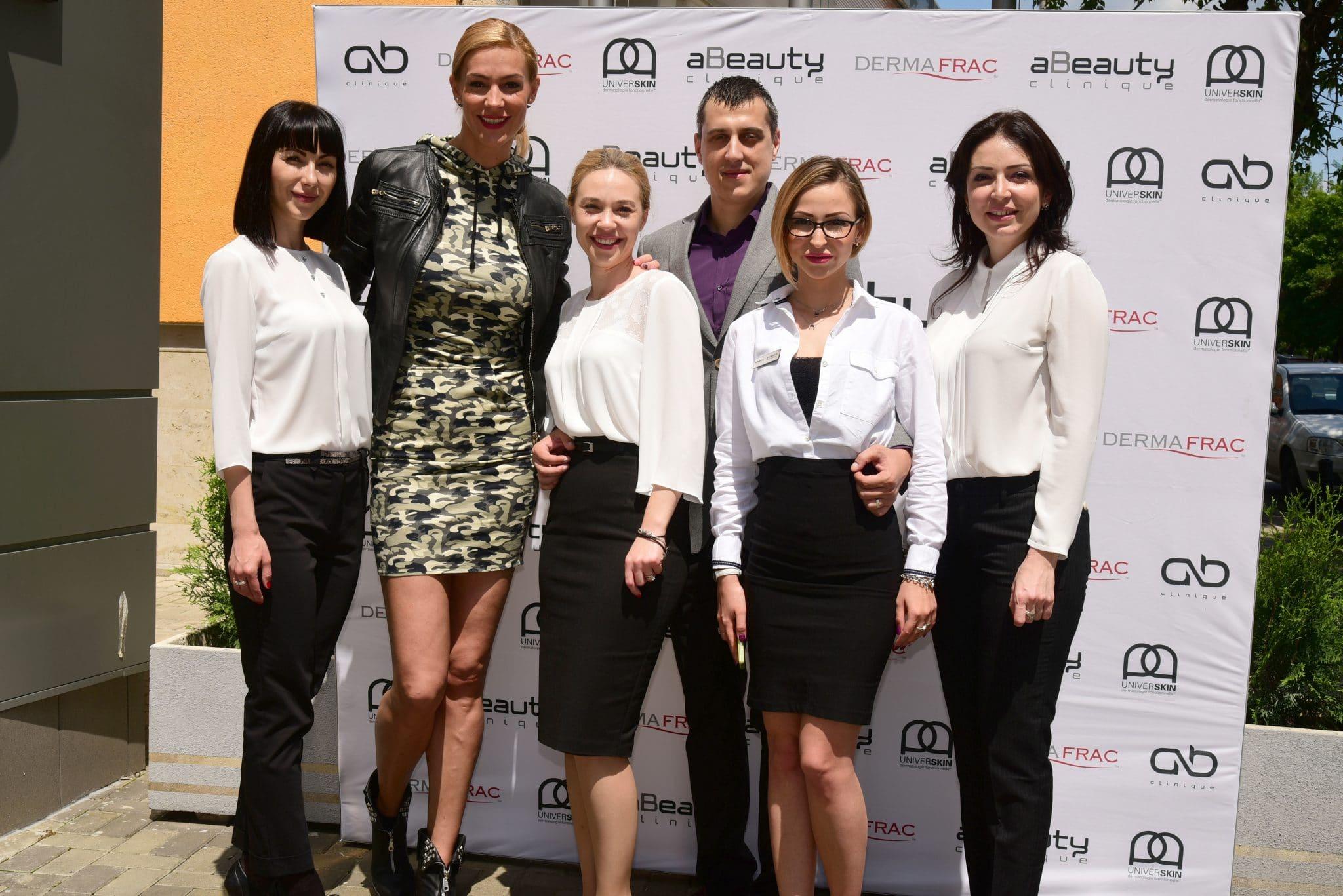 Lansare DermaFrac în România și UniverSkin în clinicile aBeauty