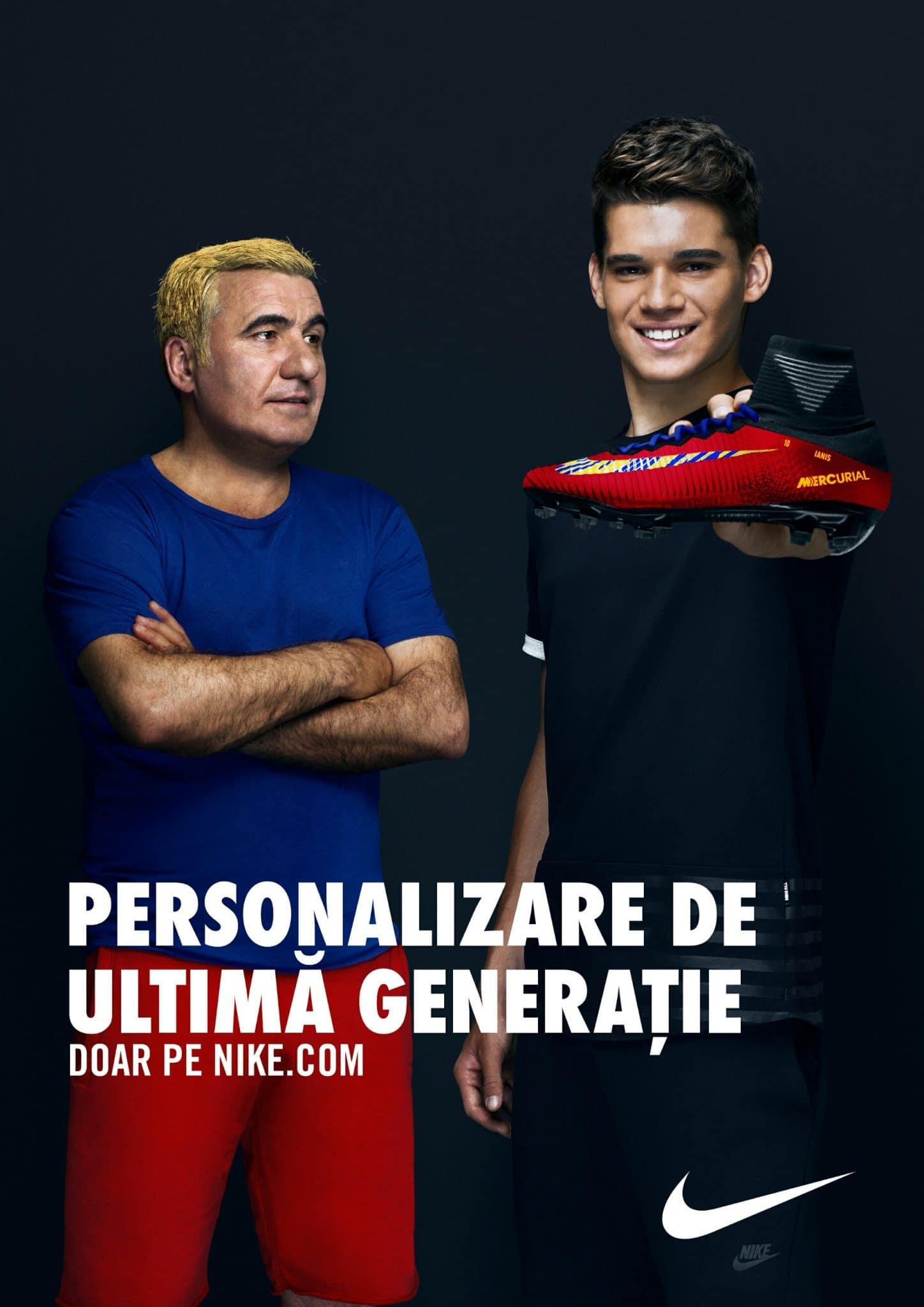 Nike celebrează fotbalul românesc – prezent şi viitor –  cu o nouă abordare.