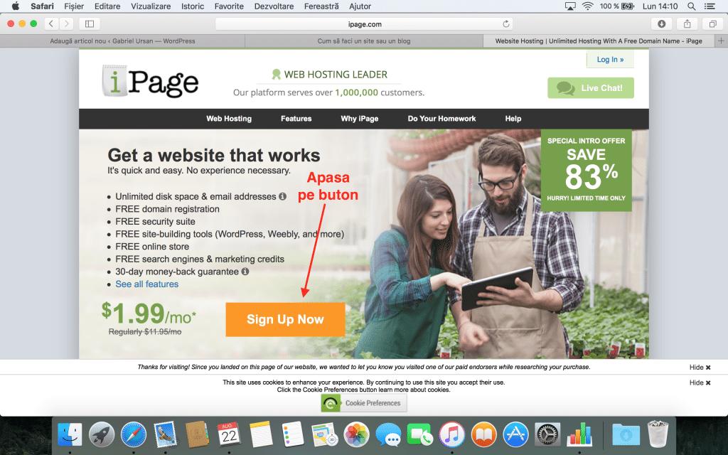 Domeniu si gazduire web