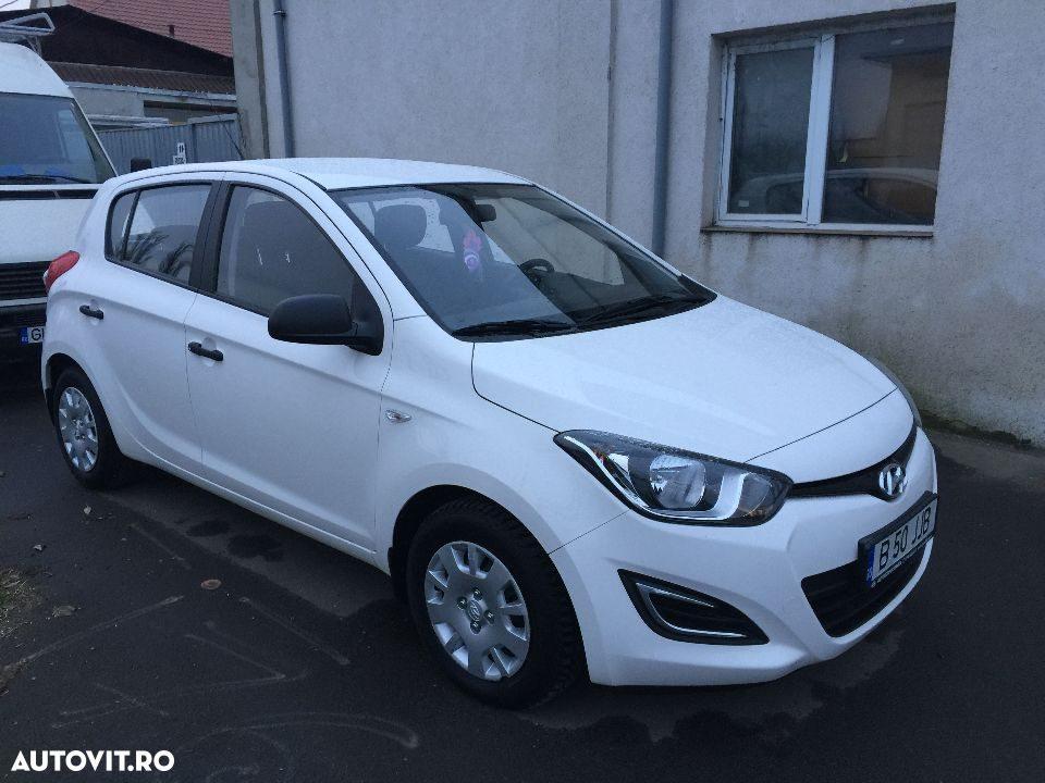 Se vinde un Hyundai i20 cu un numar rezonabil de kilometri