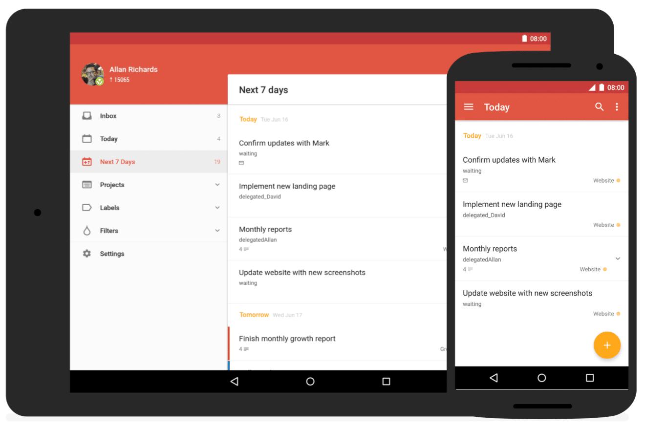Todoist este o aplicație foarte faină pentru gestionat taskuri