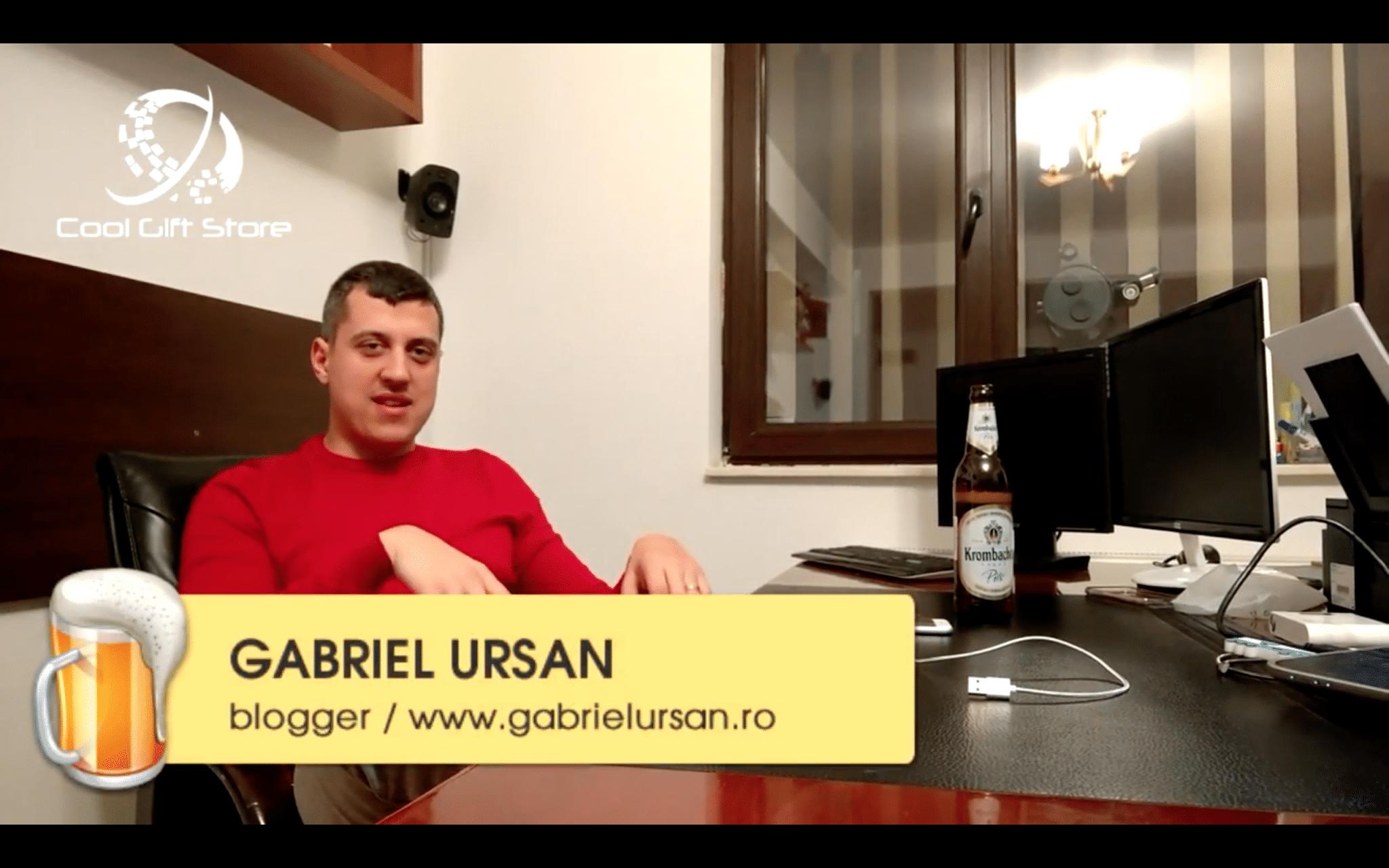 Gabriel Ursan despre cabluri magnetice de incarcare