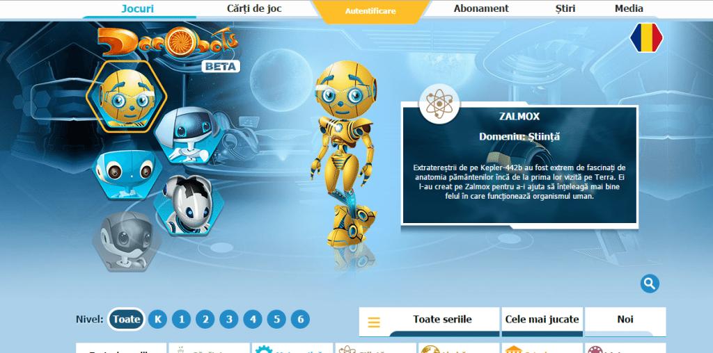 dacobots elearning pentru copii