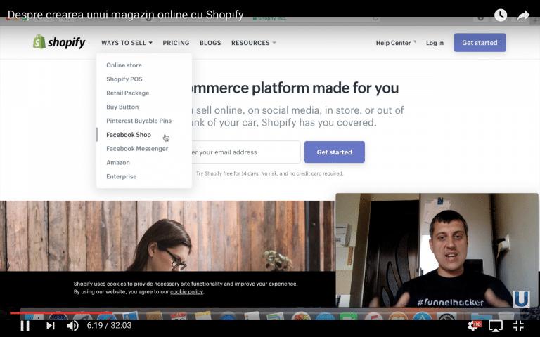 Despre crearea unui magazin online cu Shopify
