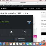 Mi-am instalat Bitdefender 2018 pe Mac