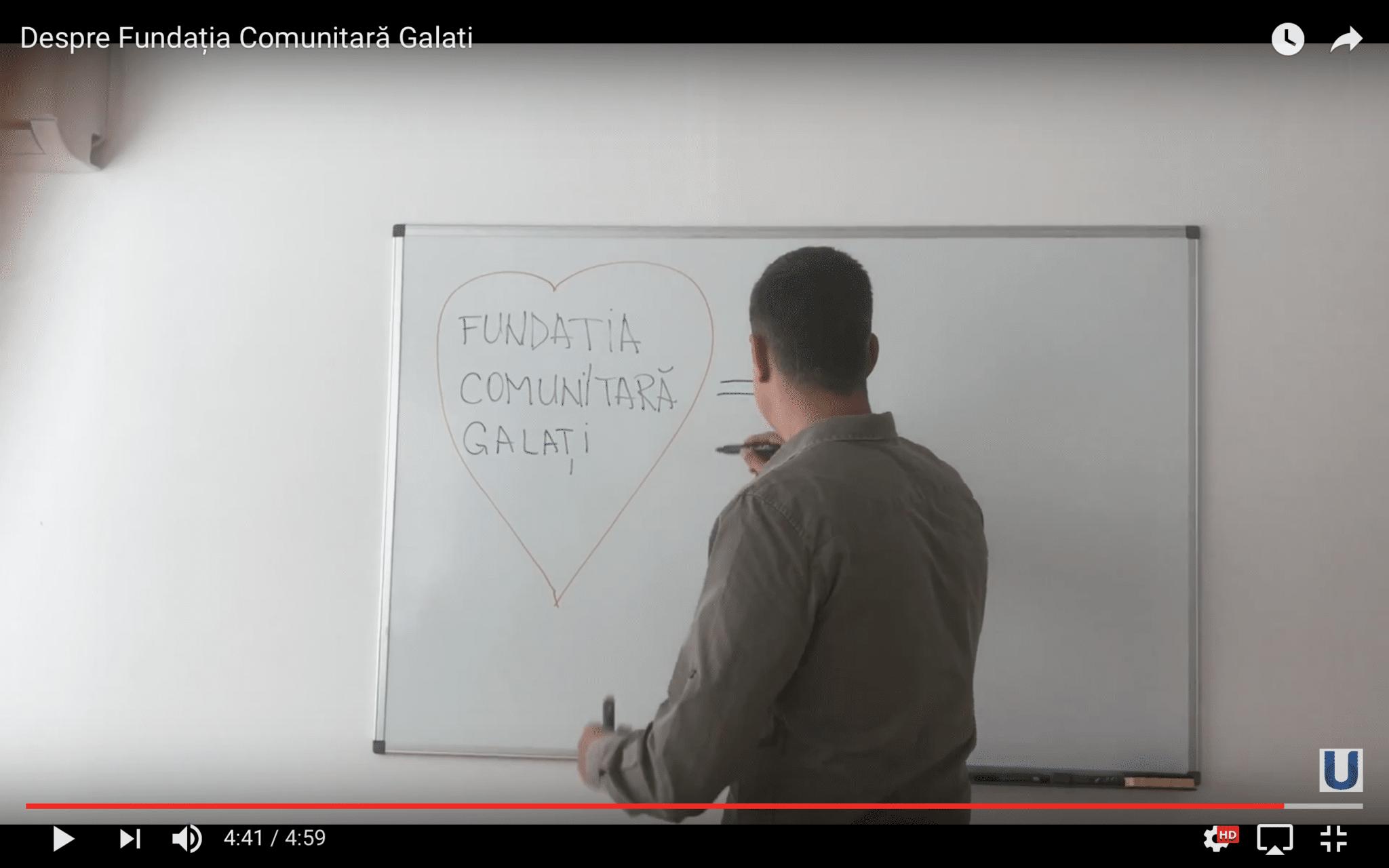 Despre Fundatia Comunitara Galati