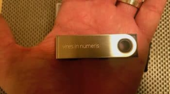 Ledger Nano S vires in numeris