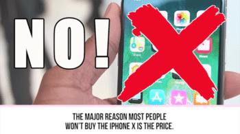 Nu va luati iPhone X