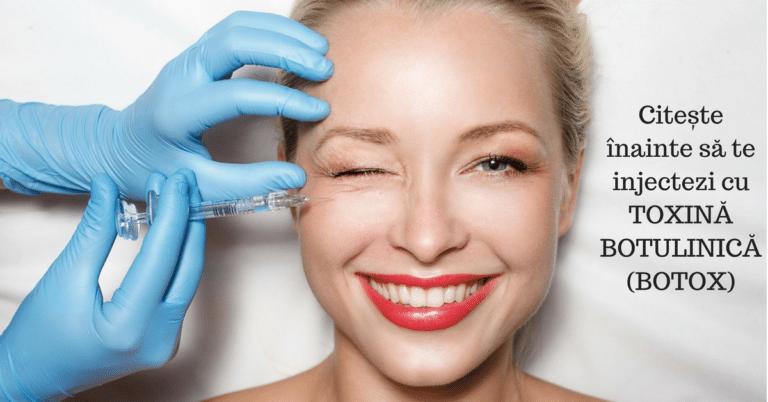 Ce este Botox și la ce se folosește toxina botulinica